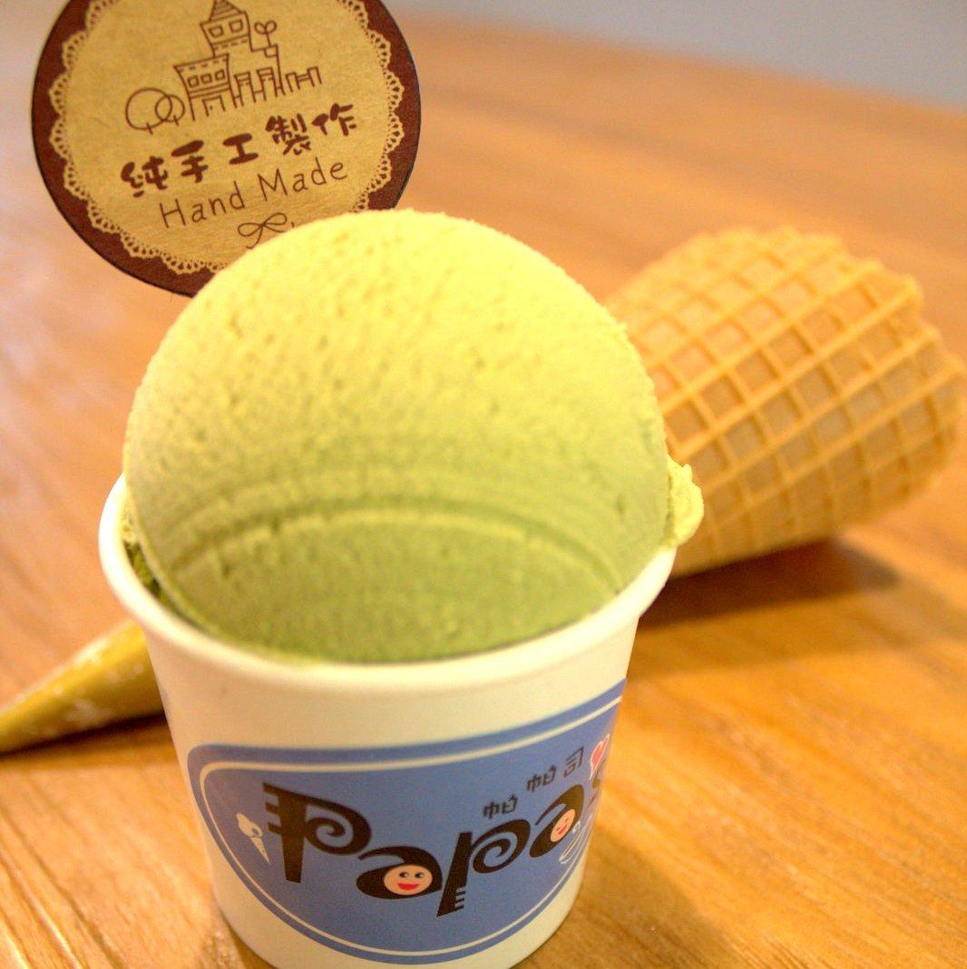 帕帕司 東京都抹茶冰淇淋 120ml