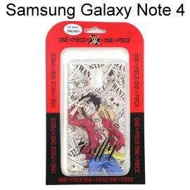 海賊王透明軟殼 Samsung Galaxy Note 4 N910U [漫畫] 魯夫 航海王保護殼【正版授權】