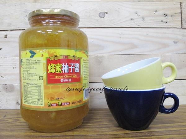 《愛鴨咖啡》韓國原裝 頂級黃金蜂密柚子醬2kg