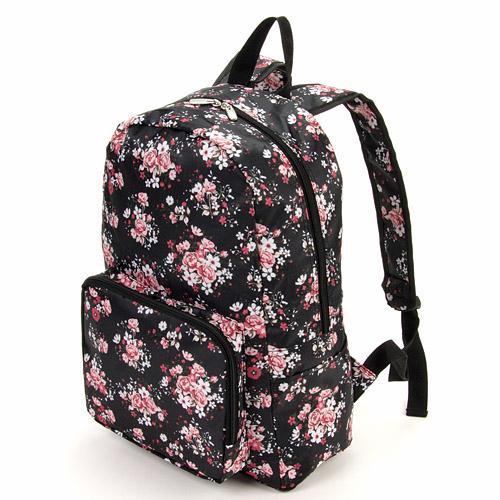 日本代購預購 日本進口 花樣折疊收納後背包 旅行背包  滿600元免運費 575-502