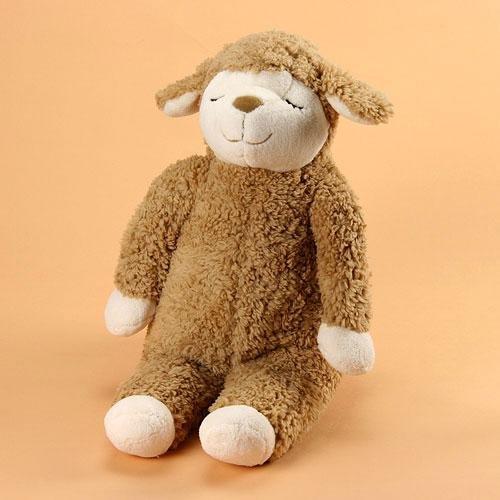 日本代購預購 羊年 睡睡羊 小綿羊 羊咩咩 蓬鬆舒適抱枕玩偶娃娃M號 高50cm 876-60821