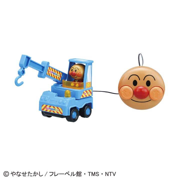 日本代購預購 滿600免運費 付款 麵包超人 有線遙控車 玩具車 交通玩具 兒童玩具 707-510