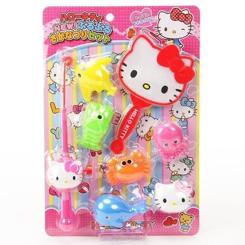 日本代購預購 三麗鷗 Hello kitty 凱蒂貓 釣魚玩具組 扮家家酒 788-177