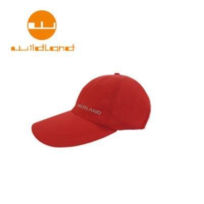 [ WILDLAND 荒野 ] 中性抗UV透氣棒球帽 / 嫣紅 / W1013-17-F