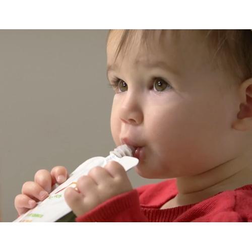 【好優Hoyo】美國 NurturMe Eco-Pouches環保餵食袋 (內含3個)