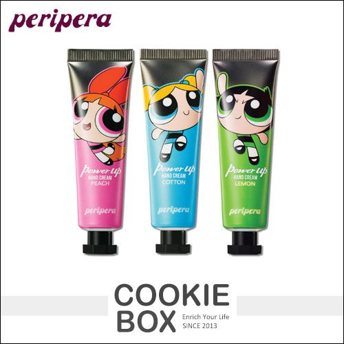 韓國 Peripera x 飛天小女警 香氛 護手霜 30ml 手部 保養 滋潤 聯名款 Powerpuff *餅乾盒子