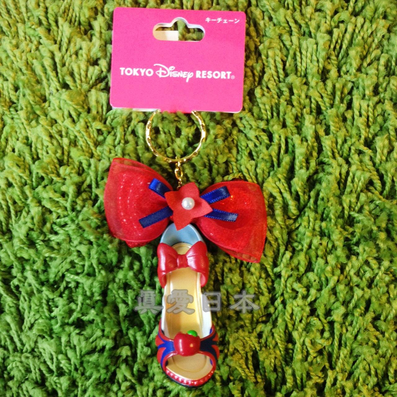【真愛日本】16041800007樂園限定鎖圈高跟鞋-白雪公主   迪士尼 白雪公主 Schneewittchen  吊飾 飾品 鑰匙圈 正品 限量 預購