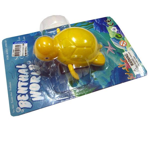 『121婦嬰用品館』亞米兔 發條水中玩具-烏龜