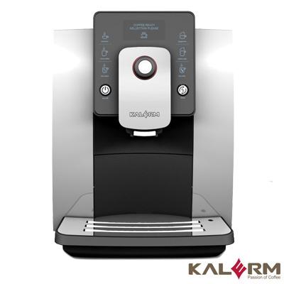 【KALERM 咖樂美】全自動咖啡機 KLM1601 (銀灰)