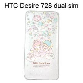 雙子星透明軟殼 [TS2] HTC Desire 728 dual sim【三麗鷗正版授權】