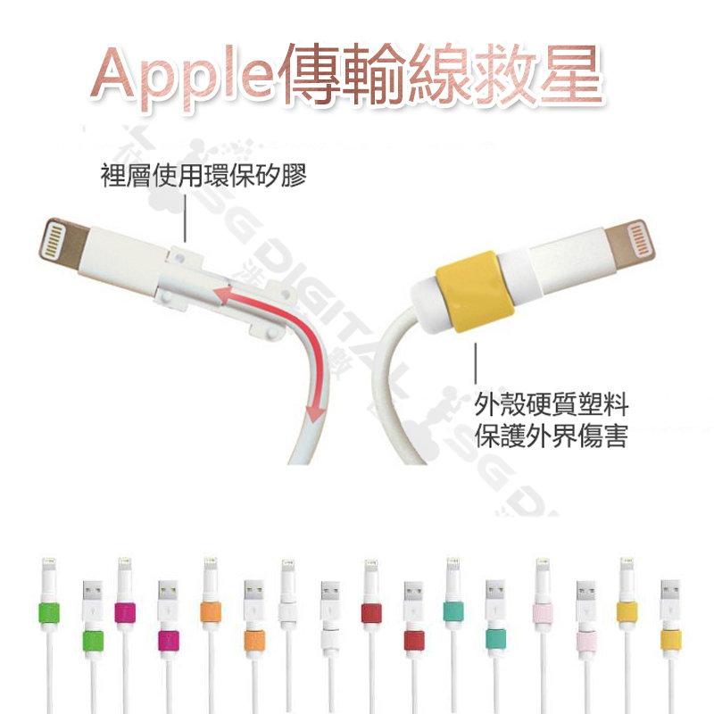 ~斯瑪鋒數位~超實用 不挑色 i線套 iphone 傳輸線 保護套 Apple 傳輸線救星 充電線 耳機線