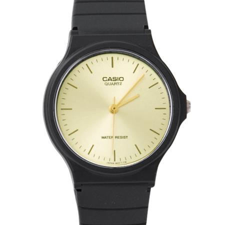 CASIO卡西歐經典基本款手錶 獨特金色刻度面板設計 輕巧中性款腕錶 柒彩年代【NE1861】原廠公司貨