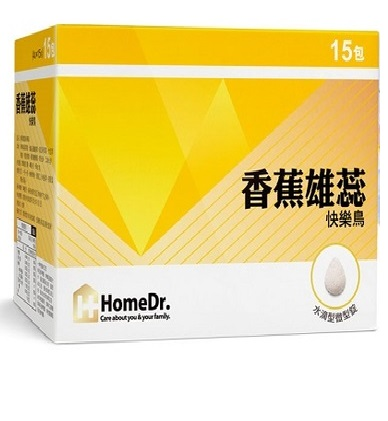 【Home Dr.】香蕉雄蕊快樂鳥(4顆x15包,60顆/盒)