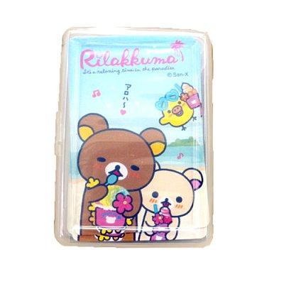【真愛日本】16011200008  撲克牌-阿囉哈  SAN-X 懶熊 奶妹 奶熊 拉拉熊  紙牌  遊戲