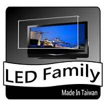 [LED家族抗藍光護目鏡] FOR 鴻海 XT-60CM802  UV-400抗藍光./強光/紫外線 60吋液晶電視護目鏡(鏡面合身款)