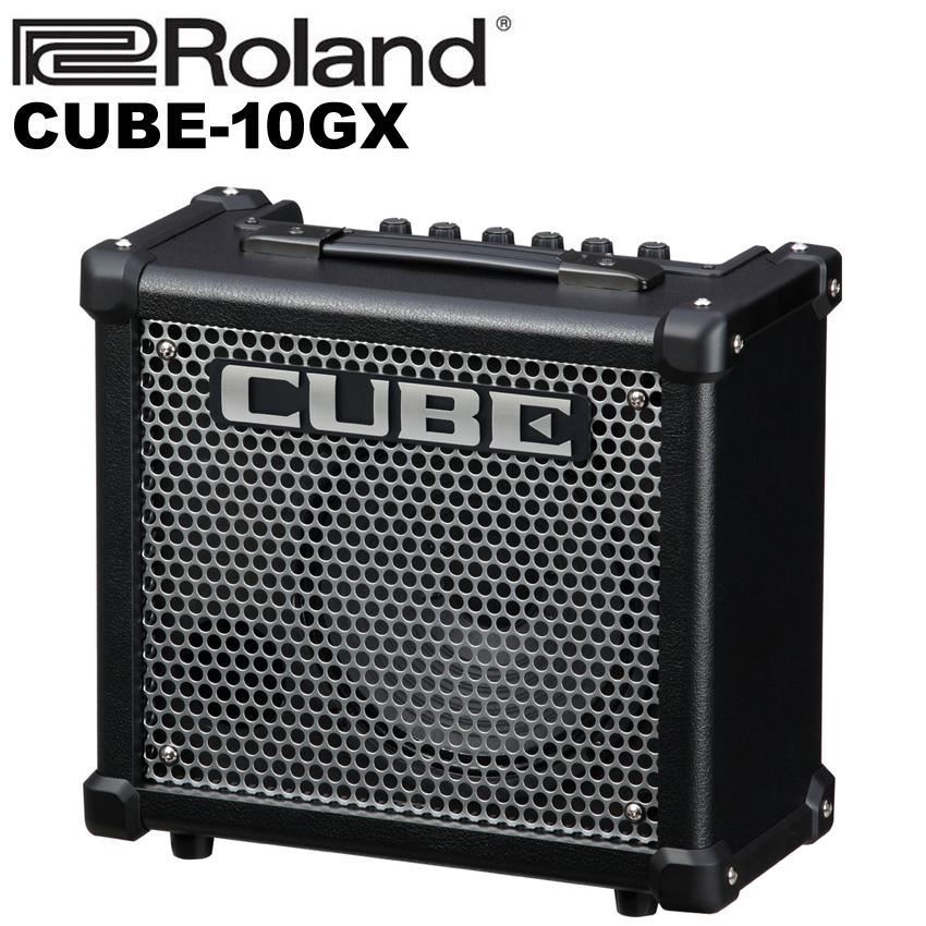 【非凡樂器】Roland CUBE-10GX(Cube 10GX)電吉他音箱/內建破音/可連接iphone/原廠公司貨