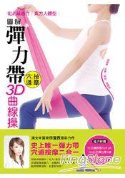 圖解彈力帶穴道按摩3D曲線操:瘦肩臂、提臀、細腿、縮腰腹