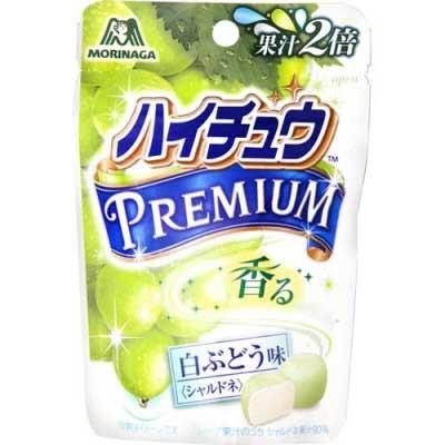 MORINAGA森永嗨啾香水白葡萄軟糖 (35g)