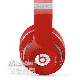 【曜德視聽】Beats Studio Wireless 紅色 藍芽無線 輕鬆抗噪 接聽通話 ★免運★送BeatsT恤★