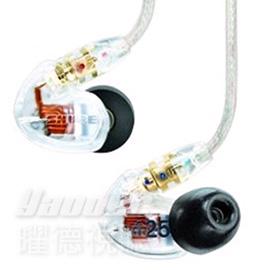 【曜德視聽】SHURE SE425 透明 噪音隔離 高解析雙單 可拆導線 ★免運★送收納盒★