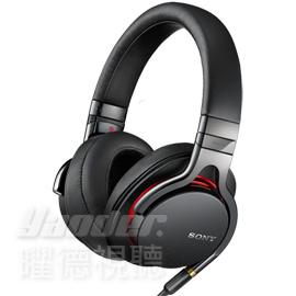 【曜德】SONY MDR-1A 黑色 高解析 Hi-Res 智慧型手機接聽 ★免運★送收納盒+潮流包★