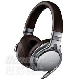 【曜德】SONY MDR-1A 銀色 高解析 Hi-Res 智慧型手機接聽 ★免運★送收納盒+潮流包★