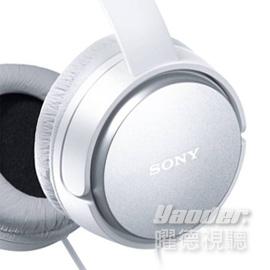 【曜德視聽】SONY MDR-XD150 白色 震撼重低音 耳罩式耳機 ★免運★送收納袋★