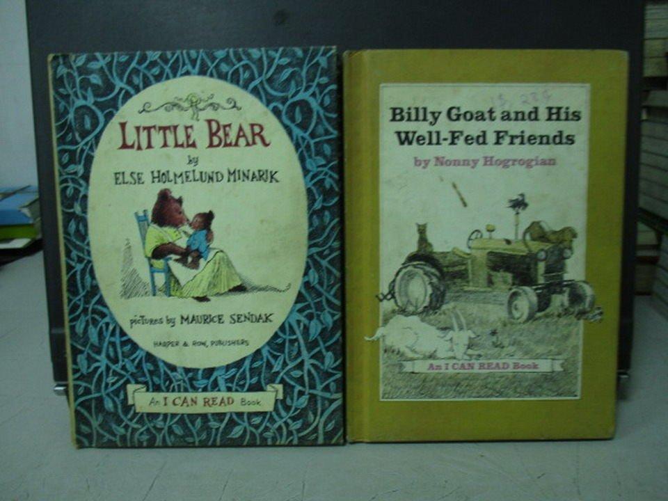 【書寶二手書T6/原文小說_LOH】Little bear_Billy goat and his..._共2本合售
