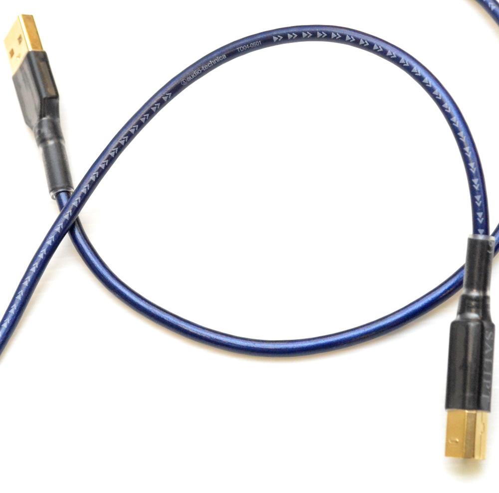 志達電子 DL023 日本鐵三角 TD04-0501 USB A公-B公 USB DAC 專用傳輸線 傳導線 適用U4 FUBARHD T1 tube