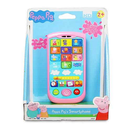 ★衛立兒生活館★【Peppa Pig】粉紅豬小妹-智慧手機PE00760