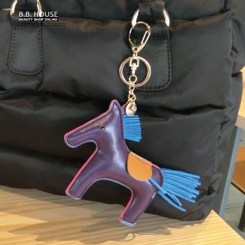 鑰匙圈-復刻古著皮革彩色小馬鑰匙圈.寶貝窩 .【CE90002】(預購)