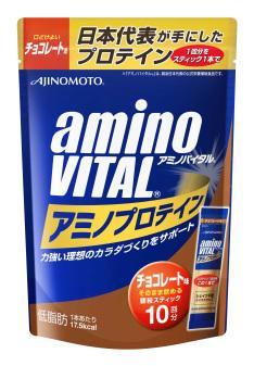 【橘町五丁目】amino VITAL 胺基酸乳清蛋白/巧克力口味【4.3g * 10包入】-免運