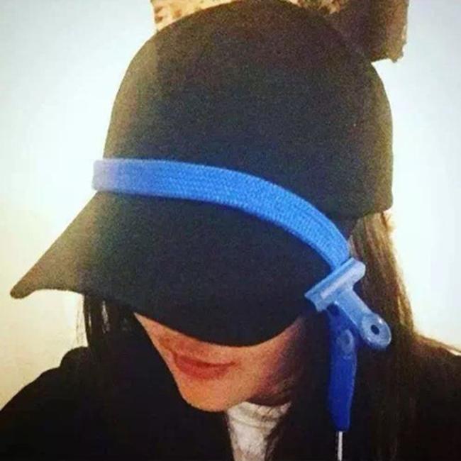 50%OFF【E020044H】韓國BIGBANG GD權志龍INS同款鞋帶棒球帽 長帶子彎簷鴨舌帽遮陽帽