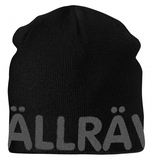 【鄉野情戶外專業】 Fjallraven |瑞典| Are Beanie 小狐狸保暖帽/毛線帽 針織帽 滑雪帽-黑/77262