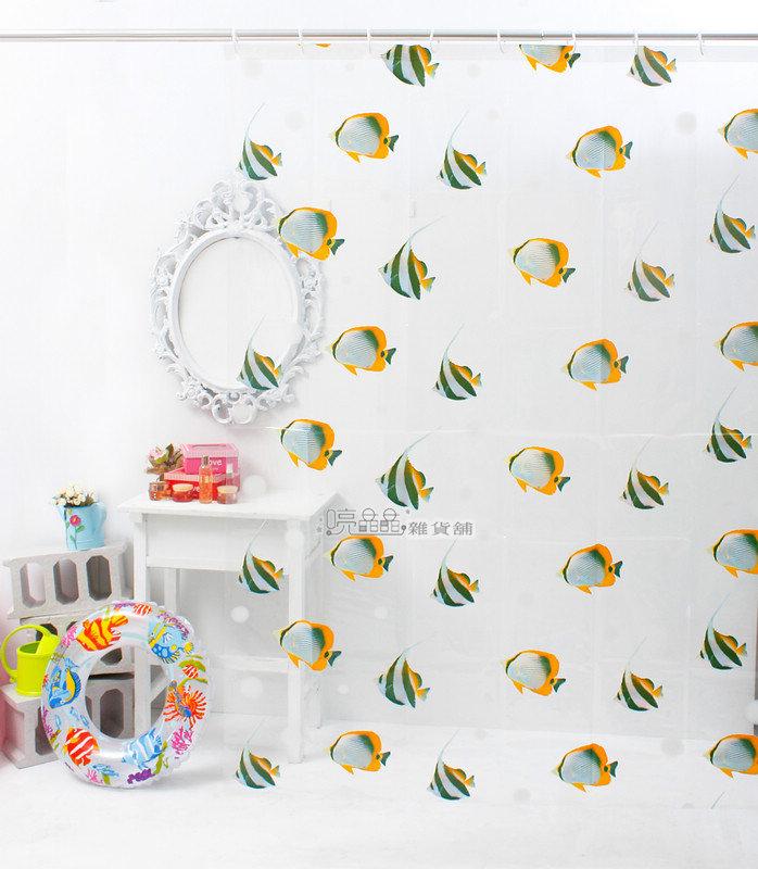 《喨晶晶生活工坊》MIT製 PEVA 防水浴簾˙隔間簾、防止冷氣外洩、B053C 180*180