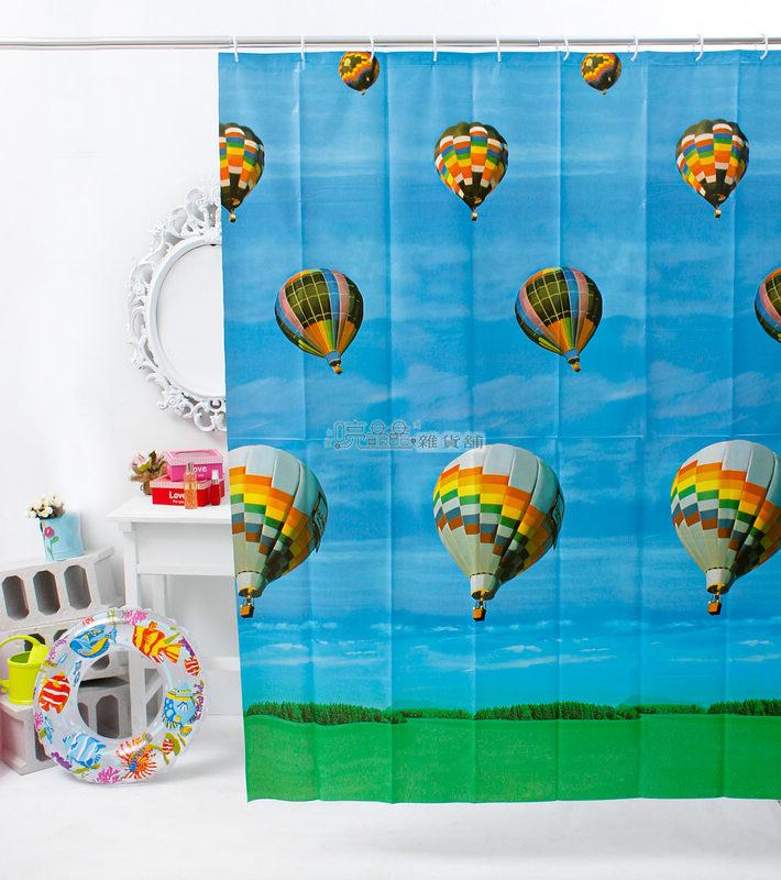 《喨晶晶生活工坊》台製 PEVA 防水浴簾˙隔間簾、乾溼分離↘$120元、B040 180*180