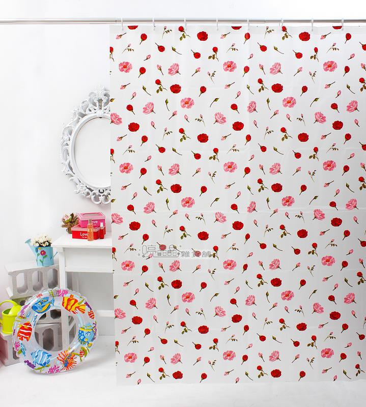 《喨晶晶生活工坊》MIT製 PEVA 防水浴簾˙隔間簾、防止冷氣外洩 B052 135*180、 附掛勾、日本訂單