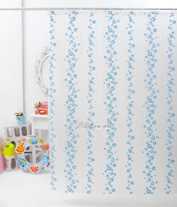 《喨晶晶生活工坊》台製 PEVA 防水浴簾˙隔間簾、乾溼分離 180*200、2F1143