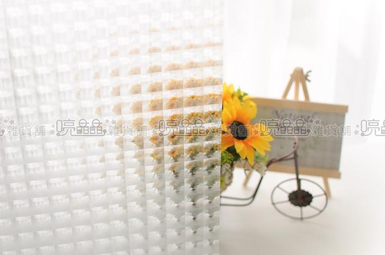 《喨晶晶生活工坊》3D貓眼無背膠靜電窗貼、防水DIY創意窗貼╲可重覆使用