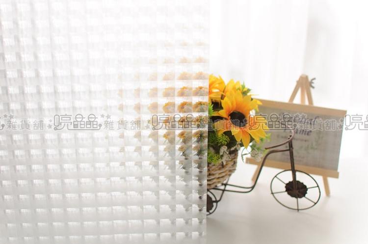 《喨晶晶生活工坊》台製3D貓眼 無背膠靜電窗貼、防水DIY創意窗貼╲可重覆黏貼