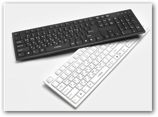 艾芮克 i-Rocks KR-6431 剪刀腳薄膜鍵盤 剩白色囉