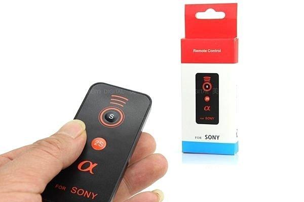攝彩@索尼 Sony 紅外線遙控器 A55 A57 A65 A77 NEX-5 NEX-6 A7 A6000 無線-21106