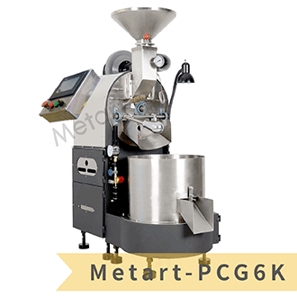 【Metart形而上】6kg 微電腦全自動燃氣式直火咖啡烘豆機/烘焙機(Metart-PCG6K)