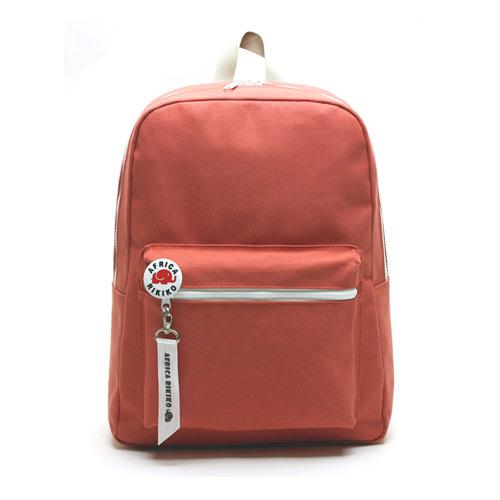 後背包 韓國品牌 AFRICA RIKIKO 馬卡龍色後背包 NO.118오렌지(Orange) - 包包阿者西