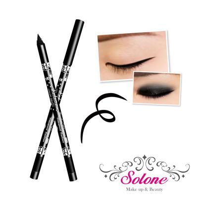 Solone 玩色派對閃閃惹人愛眼線筆-03深邃黑