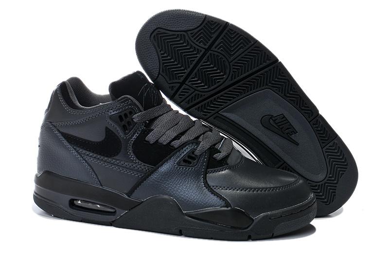 Nike Air Flight 89 AJ 4 兄弟款黑色 男鞋US8