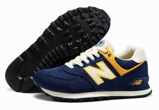 New Balance 新百倫ML574RUN常春藤系列男女情侶運動鞋 休閒鞋 慢跑鞋(深藍色)