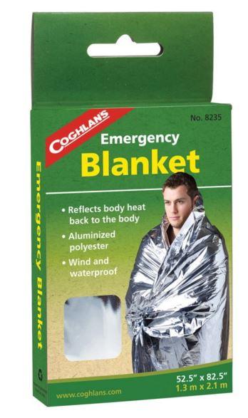 【鄉野情戶外專業】 COGHLAN'S |加拿大|  Emergency Blanket 緊急防災救生毯/求生毯/8235