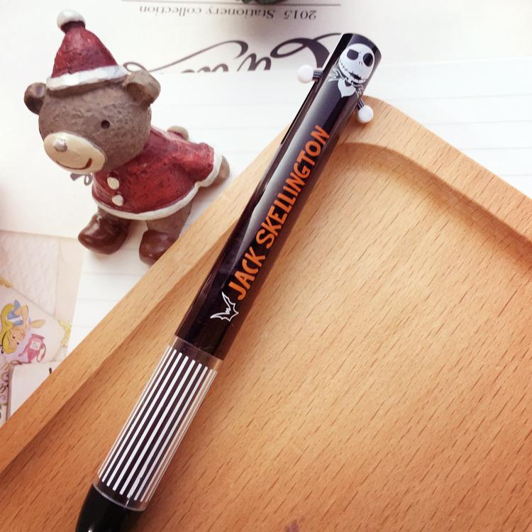 PGS7 日本迪士尼系列商品 -聖誕夜驚魂 傑克 雙色原子筆 原子筆 雙色筆 筆