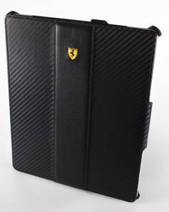 Samsung 法拉利 GALAXY Tab 10.1吋 P7500 P7510/GALAXY Tab2 P5100 10.1吋 平板電腦皮套/保護套 立架式皮套/碳纖紋路書本式皮套